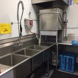 Community Kitchen dishwasher