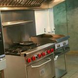 Oven range grill