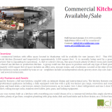 NYC Commercial Kitchen Available Image 1